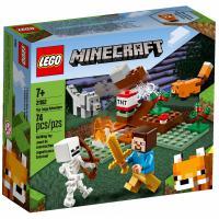 Конструктор LEGO Minecraft Приключения в тайге 74 детали Фото