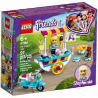 Конструктор LEGO Friends Тележка с мороженым 97 деталей Фото