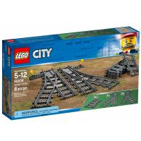 Конструктор LEGO City Железнодорожные стрелки 8 деталей Фото