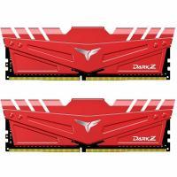 Модуль пам'яті для комп'ютера Team DDR4 16GB (2x8GB) 3000 MHz T-Force Dark Z Red Фото