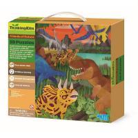 Пазл 4М 3D Динозавры Фото