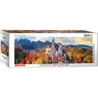 Пазл Eurographics Нойшванштайн осенью, 1000 элементов панорамный Фото