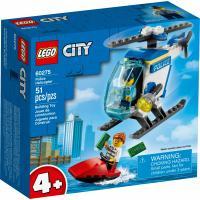 Конструктор LEGO City Police Полицейский вертолет 51 деталь Фото