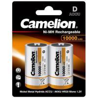Аккумулятор Camelion D 10000mAh Ni-MH * 2 R20-2BL Фото
