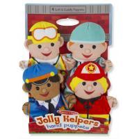 Ігровий набір Melissa&Doug Кукольный театр Веселые помощники, 4 штуки Фото