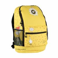 Рюкзак шкільний Yes R-08 ГУСЬ желтый Фото