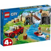Конструктор LEGO City Спасательный внедорожник для зверей 157 детал Фото