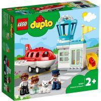 Конструктор LEGO Duplo Самолет и аэропорт 28 деталей Фото
