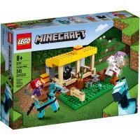 Конструктор LEGO Minecraft Конюшня 241 деталь Фото