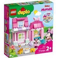 Конструктор LEGO DUPLO Disney Дом и кафе Минни 91 деталь Фото