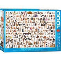 Пазл Eurographics Мир собак, 1000 элементов Фото