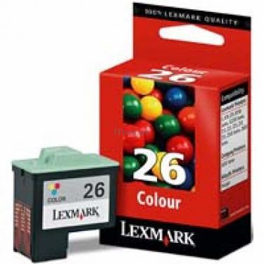 Картридж №26 Color Lexmark (10N0026E) - фото 1