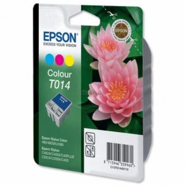 Картридж C20/С40, Stylus Color 480, 3-color EPSON (C13T01440110) - фото 1