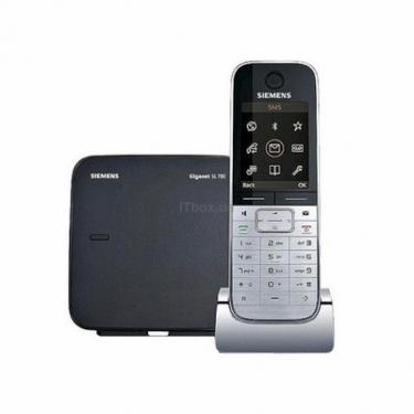 Телефон DECT Siemens Gigaset SL780 Silver/Black - фото 1