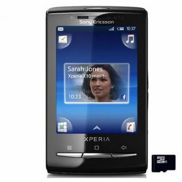 Мобильный телефон U20 Black (XPERIA X10 mini pro) SonyEricsson (1239-2301) - фото 1
