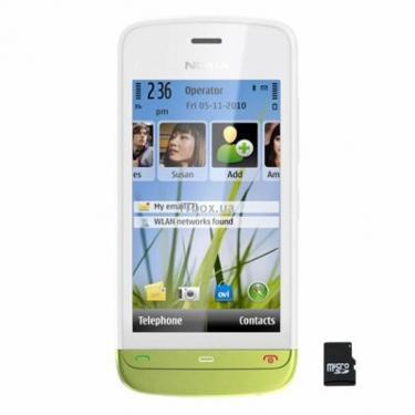 Мобильный телефон C5-03 White Lime Green Nokia (002V994) - фото 1