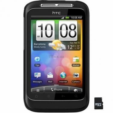 Мобільний телефон HTC A510e Wildfire S Black (4710937353587) - фото 1