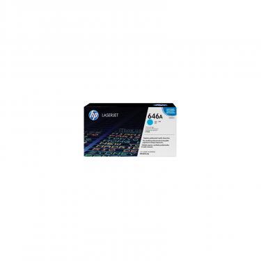 Картридж HP CLJ  646A Cyan \CM4540MFP (CF031A) - фото 1