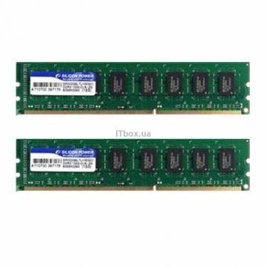 Модуль пам'яті для комп'ютера DDR3 4GB (2x2GB) 1333 MHz Silicon Power (SP004GBLTU133S22) - фото 1
