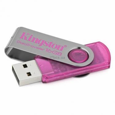 USB флеш накопичувач DataTraveler 101 pink Kingston (DT101N/16GB) - фото 1