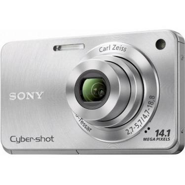Цифровой фотоаппарат Cybershot DSC-W350 silver SONY (DSC-W350S) - фото 1