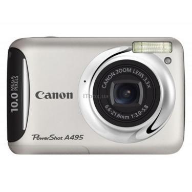 Цифровой фотоаппарат Canon PowerShot A495 silver Фото