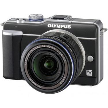 Цифровой фотоаппарат Olympus PEN E-PL1 DZK black/black Фото