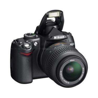 Цифровой фотоаппарат D5000 kit AF-S DX 18-105mm VR Nikon (VBA240KR04) - фото 1