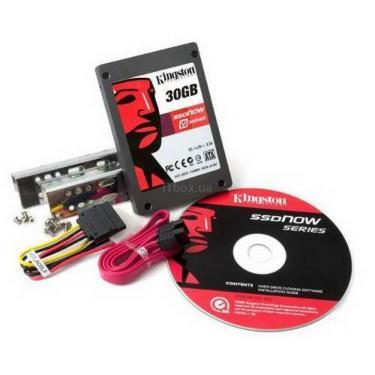 Накопичувач SSD Desktop Upgrade Kit Kingston (SNV125-S2BD/30GB) - фото 1