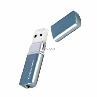 USB флеш накопичувач 8Gb LuxMini 720 blue Silicon Power (SP008GBUF2720V1B) - фото 1