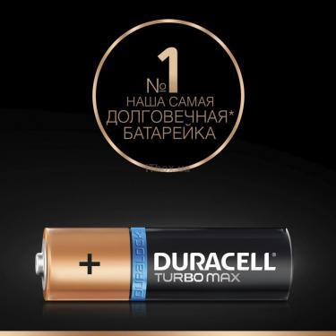Батарейка Duracell AA TURBO MAX LR6 MN1500 * 4 (5000394069190 / 81546727) - фото 3