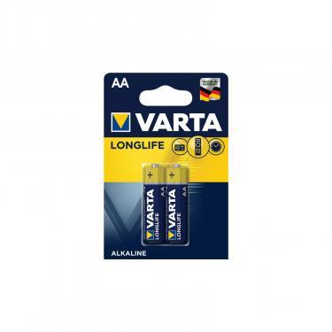 Батарейка Varta AA Varta Longlife LR06 * 2 (04106101412) - фото 1