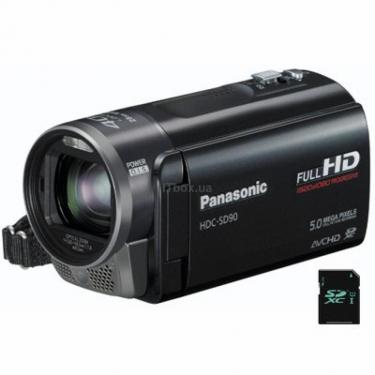 Цифровая видеокамера HDC-SD90EE-K black Panasonic (HDC-SD90EE-K) - фото 1