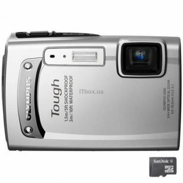 Цифровий фотоапарат TG-610 silver (WP 5m) Olympus (N4297992) - фото 1