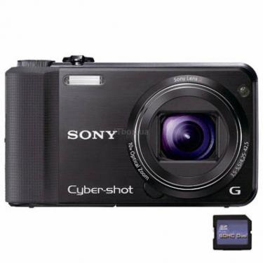 Цифровой фотоаппарат Cyber-shot DSC-HX7V black Sony (DSCHX7VB.CEE2) - фото 1