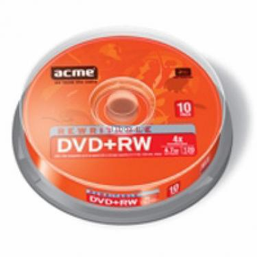 Диск DVD ACME 4.7Gb 4x Cake box 10шт (4770070852972) - фото 1