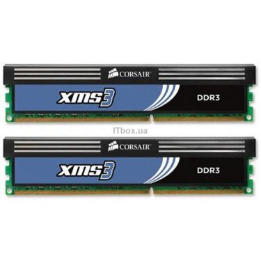 Модуль памяти для компьютера DDR3 4GB (2x2GB) 1333 MHz CORSAIR (TW3X4G1333C9A G) - фото 1