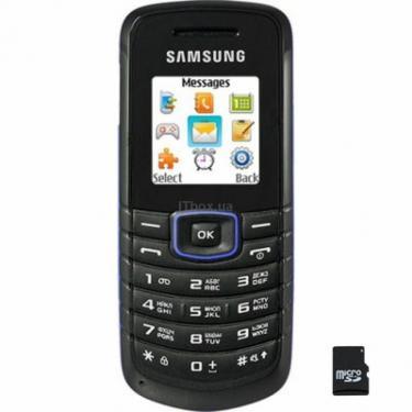 Мобильный телефон GT-E1080 Blue Samsung (GT-E1080ZBW) - фото 1