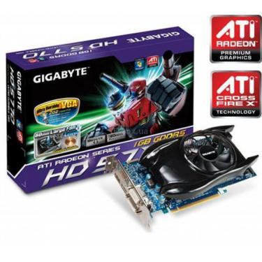 Видеокарта Radeon HD 5770 1024Mb GIGABYTE (GV-R577UD-1GD) - фото 1