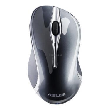 Мишка ASUS BX700 Grey (90-XB0D00MU00020) - фото 1