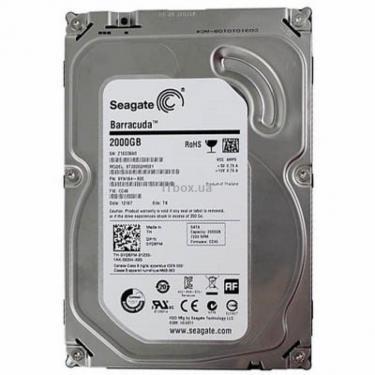 """Жесткий диск 3.5"""" 2TB Seagate (ST2000DM001) - фото 1"""
