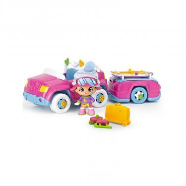 Игровой набор Pinypon Автомобиль с прицепом Фото 1