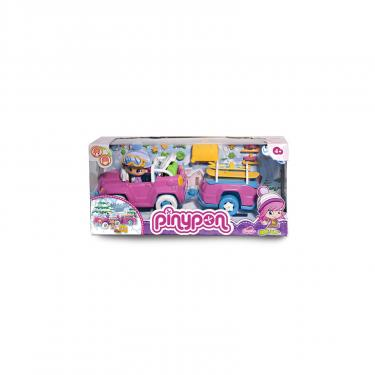 Игровой набор Pinypon Автомобиль с прицепом Фото