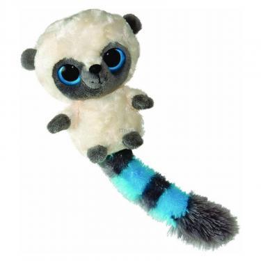Мягкая игрушка Yoohoo Лемур белый с голубыми полосками 12 см Фото