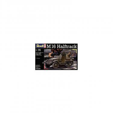 Сборная модель Revell Полугусеничный бронеавтомобиль Halftrack M16, 1:76 Фото 2