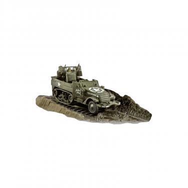Сборная модель Revell Полугусеничный бронеавтомобиль Halftrack M16, 1:76 Фото