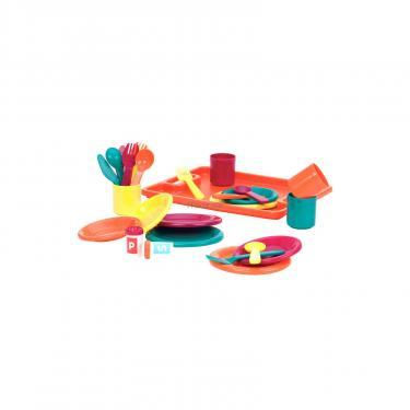 Игровой набор Battat Званый Ужин 27 предметов на 4 персоны Фото