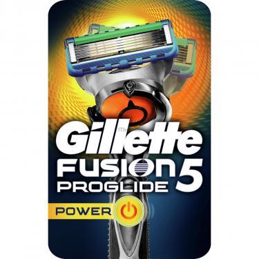 Бритва Gillette Fusion ProGlide Power Flexball с 1 сменной кассетой (7702018388646) - фото 1
