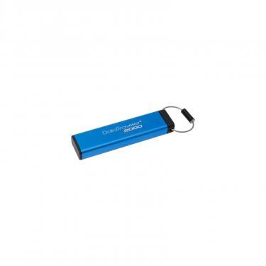 USB флеш накопитель Kingston 64GB DT 2000 Metal Security USB 3.0 (DT2000/64GB) - фото 2