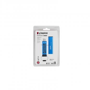 USB флеш накопитель Kingston 64GB DT 2000 Metal Security USB 3.0 (DT2000/64GB) - фото 4